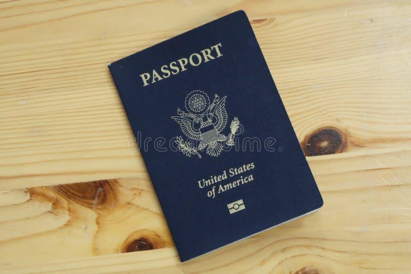 Passeport international officiel de douane des USA photographie stock libre de droits