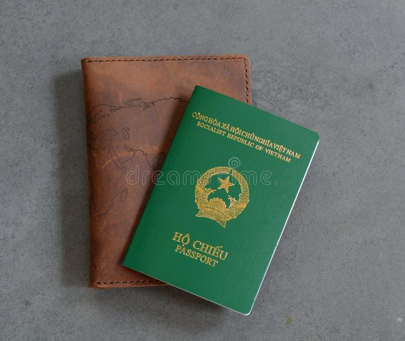 Passeport vietnamien photographie stock