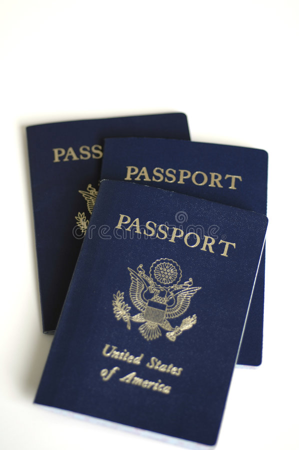 Passeports des USA photographie stock