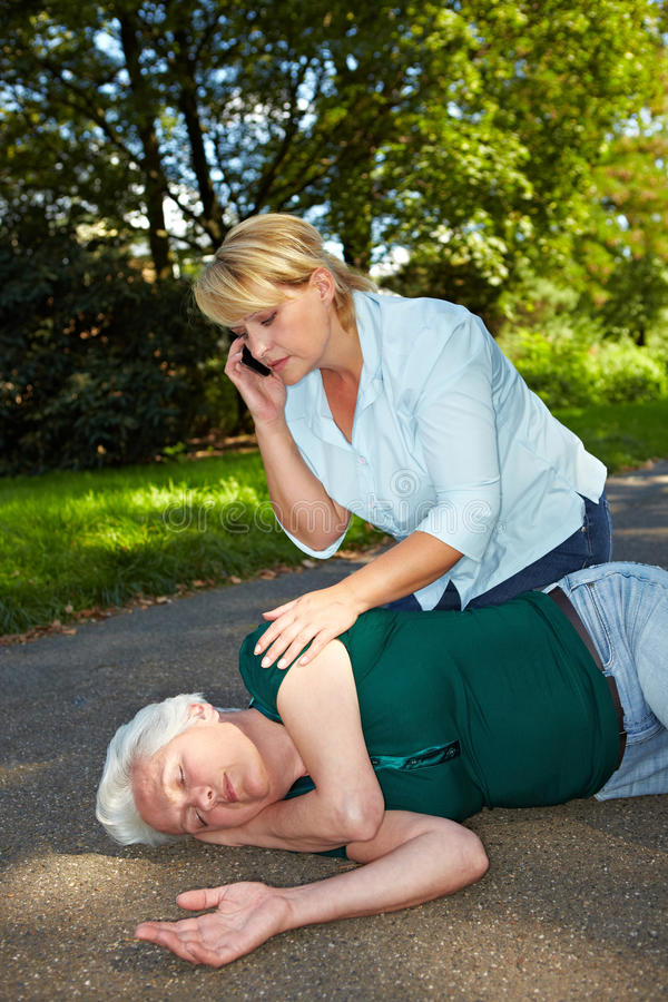 Download Passerby calling emergency stock photo. Image of infarct - 21154750