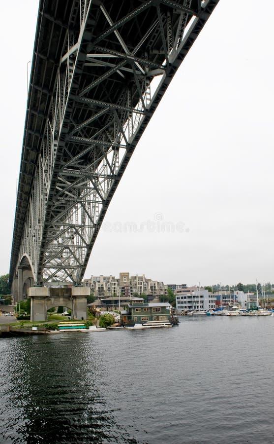 Passerelle à Seattle photographie stock libre de droits
