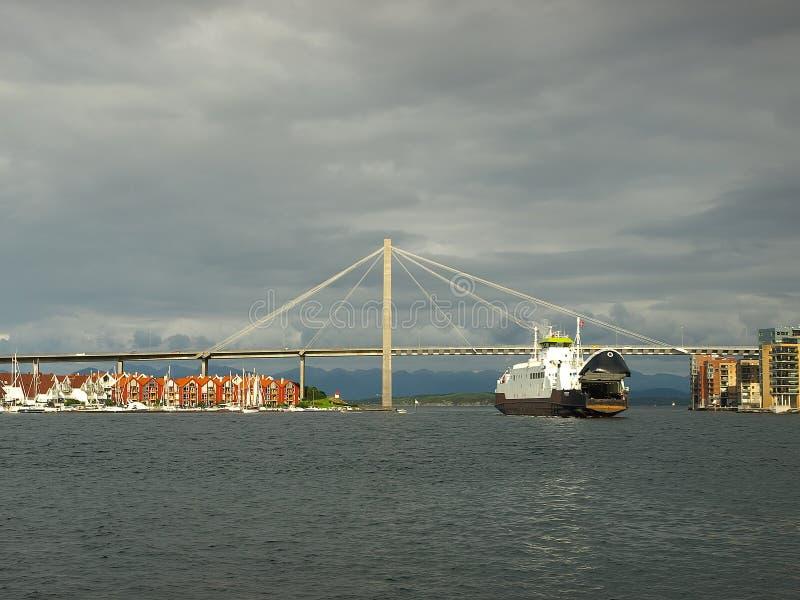 Passerelle à Stavanger image stock