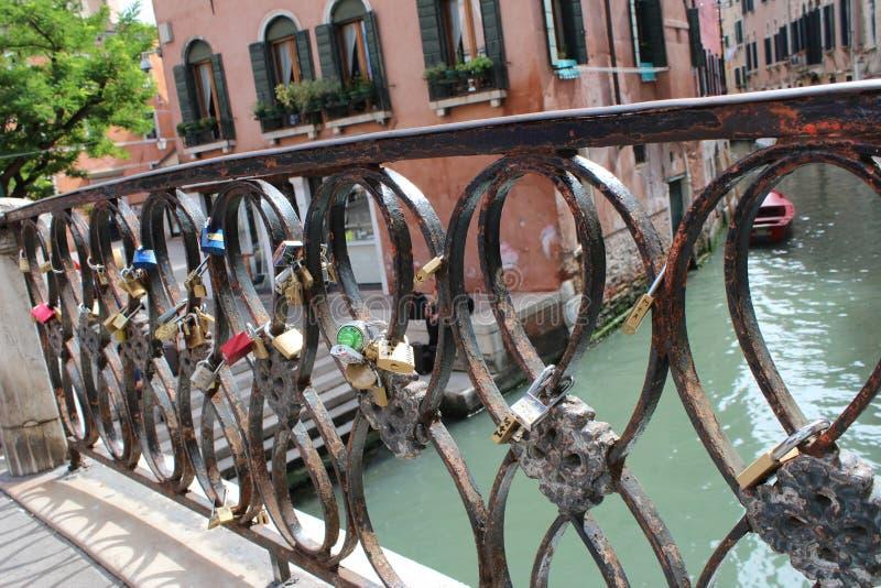Passerelle à Venise photographie stock