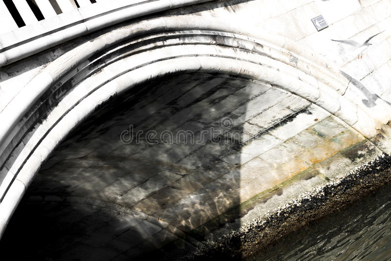 Passerelle à Venise photo libre de droits