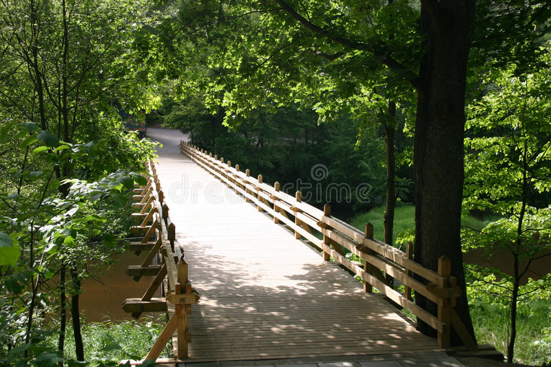 Passerelle images stock