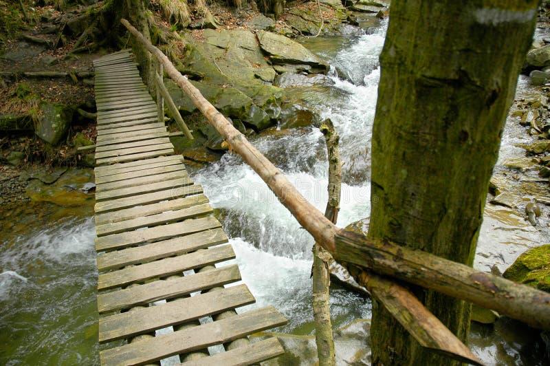 Download Passerelle Au-dessus De Fleuve Photo stock - Image du périlleux, rampe: 742070