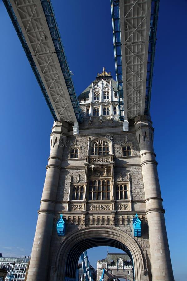 Passerelle célèbre de tour, Londres, R-U photo stock