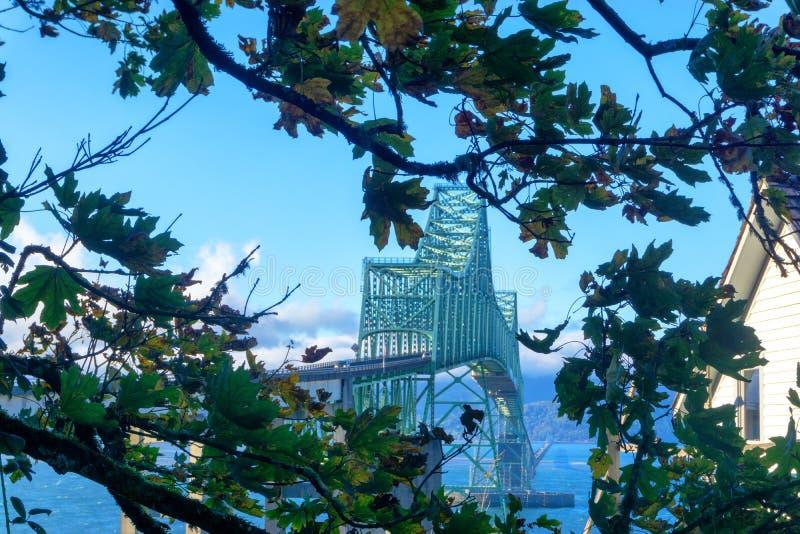 Passerelle d'Astoria Megler photos stock