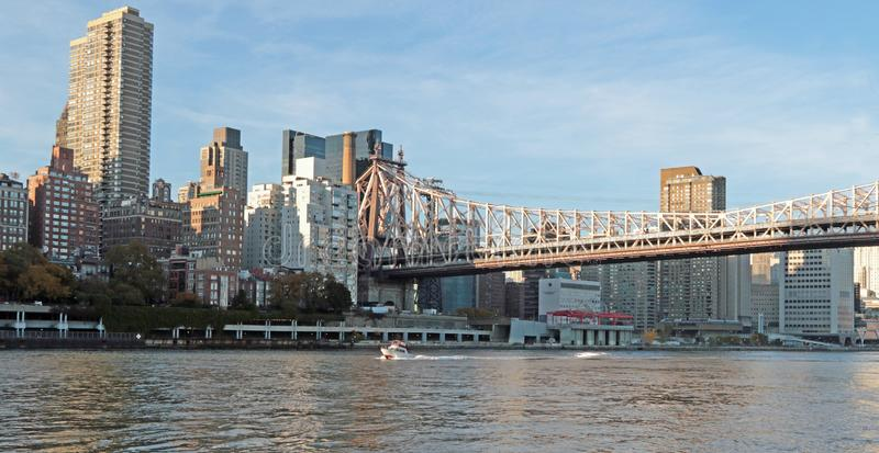Passerelle d'Ed Koch Queensboro photographie stock
