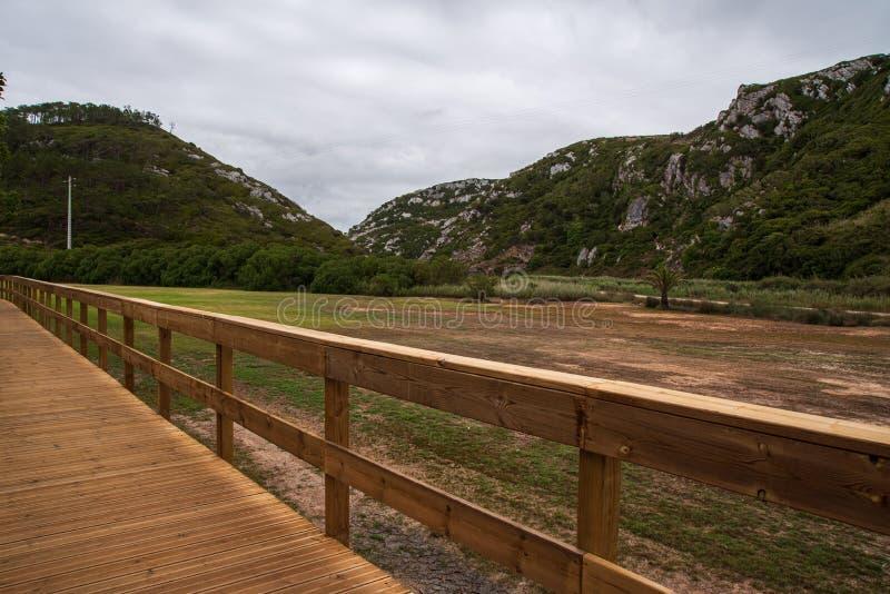 Passerelle d'Escarpas à Torres Vedras Portugal photo libre de droits