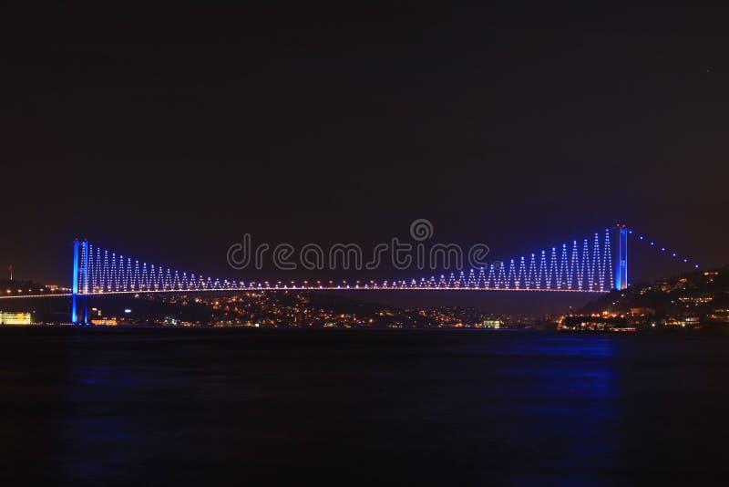 Passerelle d'Istanbul Bosphorus images libres de droits