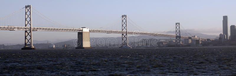 Passerelle de baie connectant Oakland et San Francisco images stock