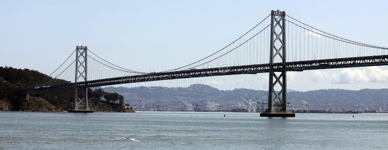 Passerelle de baie connectant Oakland et San Francisco image stock