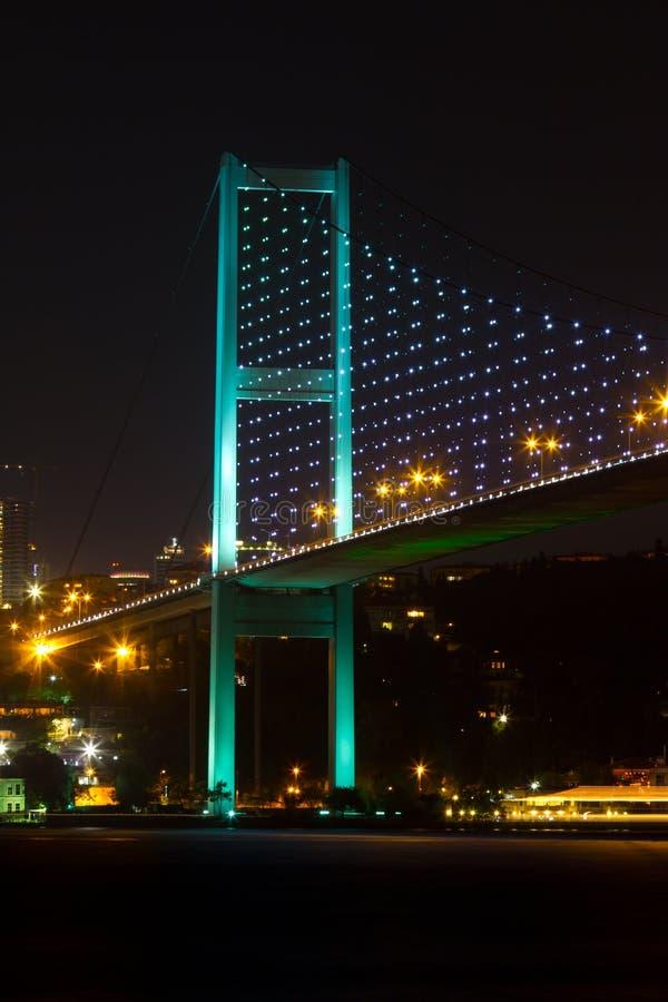 Passerelle de Bosphorus photos libres de droits
