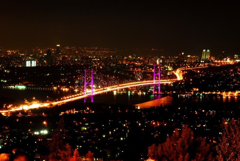 passerelle de bosporus Istanbul image stock