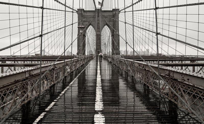 Passerelle de Brooklyn photo libre de droits