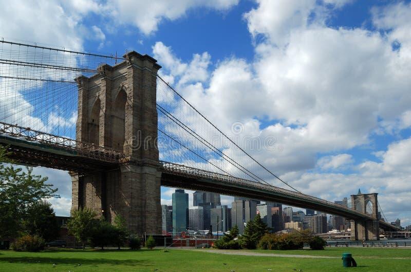 Passerelle de Brooklyn dans NYC photographie stock libre de droits
