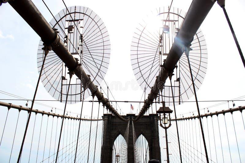 Passerelle de Brooklyn, New York City Les ETATS-UNIS 2017 photographie stock libre de droits