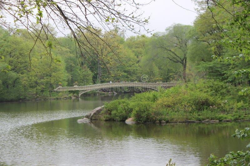 Passerelle de Central Park photos libres de droits