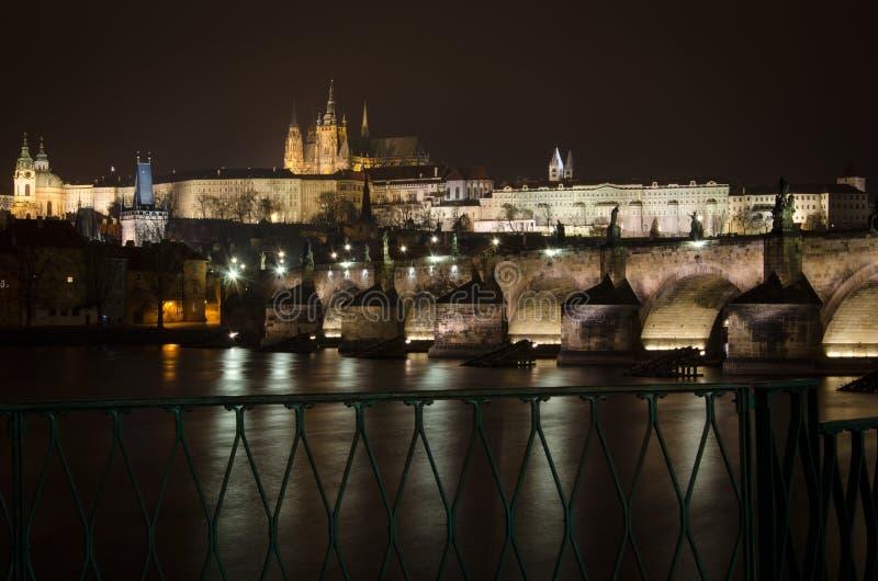 Passerelle de Charles à Prague, République Tchèque image libre de droits