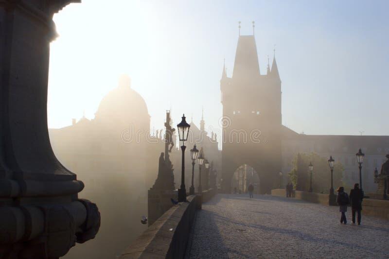 Passerelle de Charles - Prague photographie stock libre de droits