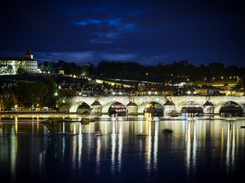 Passerelle de Charles, Prague, République Tchèque photographie stock libre de droits