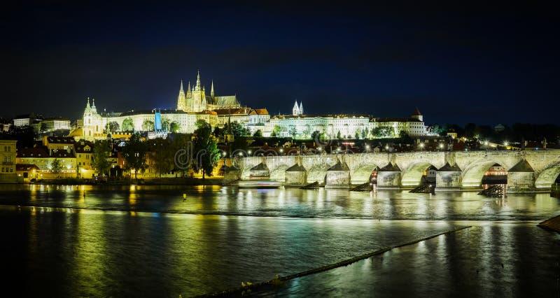 Passerelle de Charles, Prague, République Tchèque image stock