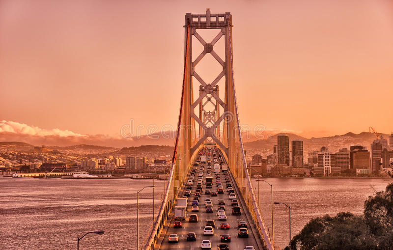 Passerelle de compartiment, San Francisco photos stock
