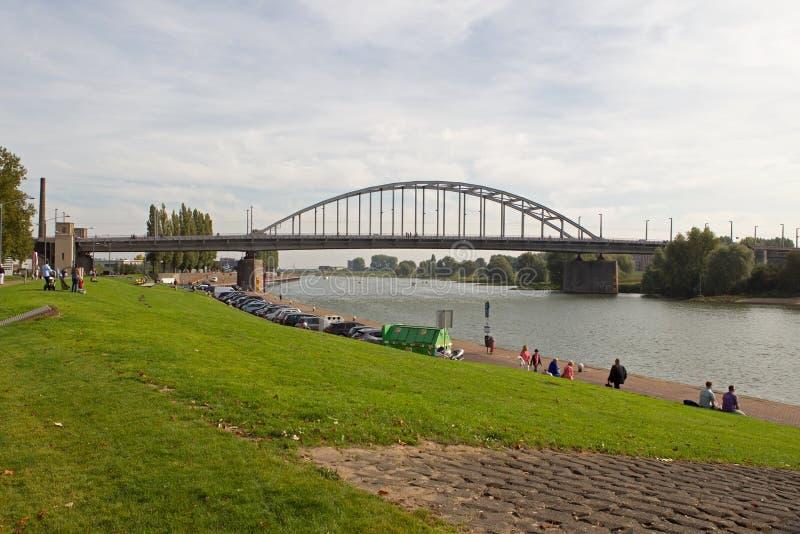 Passerelle de gel de John à Arnhem image stock