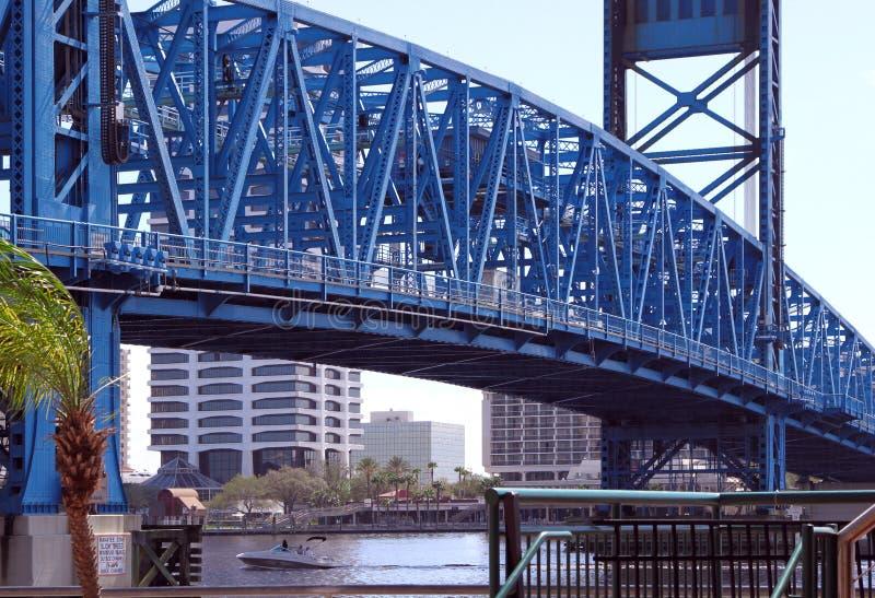 Passerelle de Jacksonville photos stock