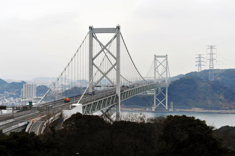 Passerelle de Kyushu-Honshu photo libre de droits