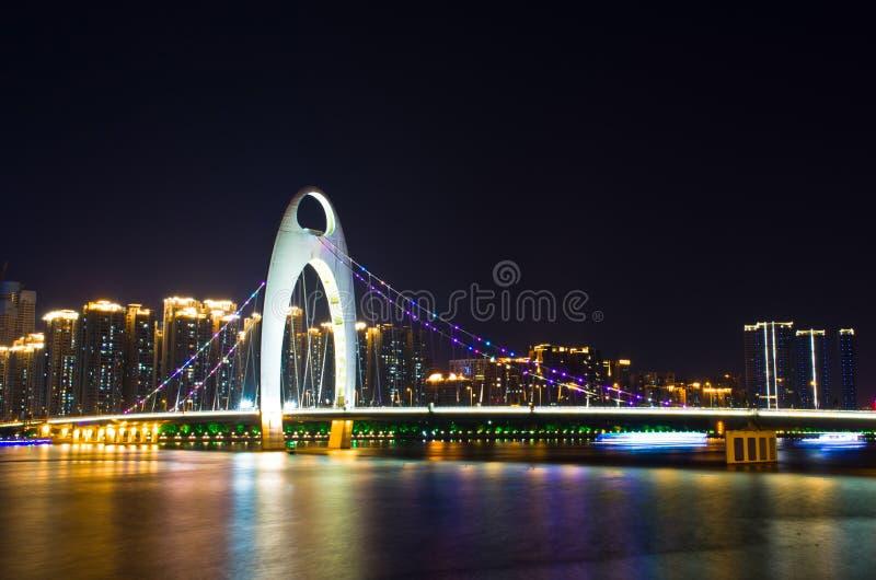 Passerelle de Liede dans Guangzhou image stock
