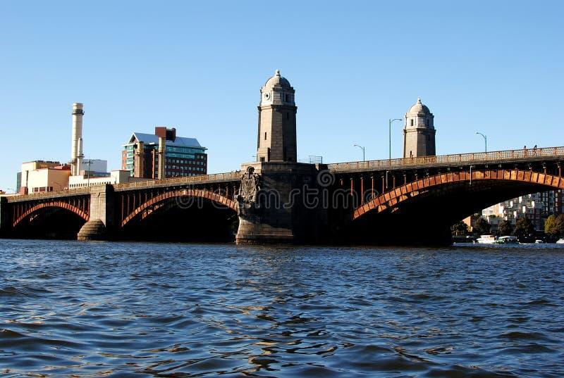 Passerelle de Longfellow, Boston, mA images libres de droits