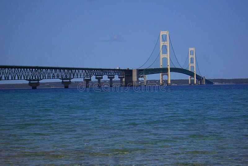 Passerelle de Mackinac au Michigan photo stock