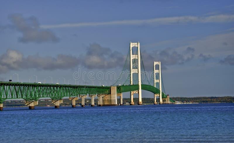 Passerelle de Mackinac, Michigan image stock
