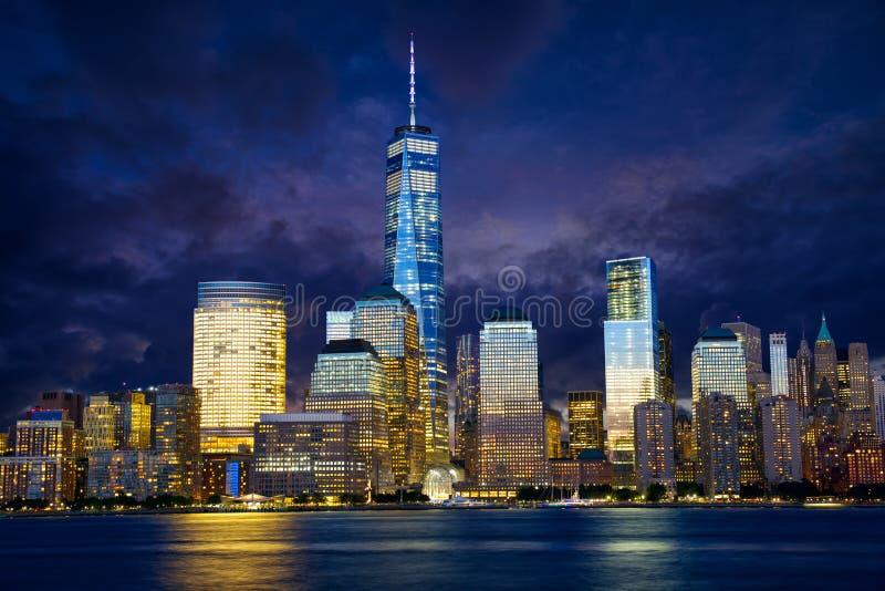 Passerelle de Manhattan et de Brooklyn image stock