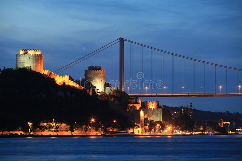 Passerelle de Mehmed de sultan de Fatih image libre de droits