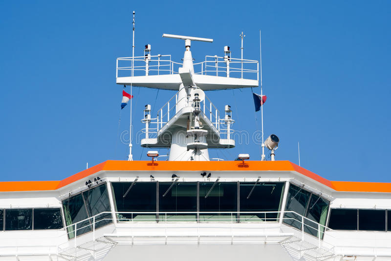 Passerelle de navires images stock