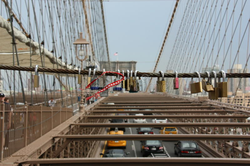 Passerelle de New York Brooklyn image stock