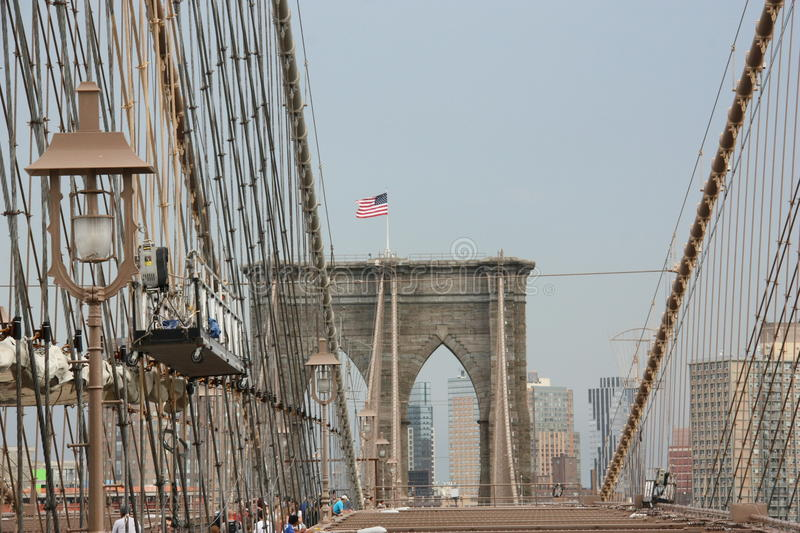 Passerelle de New York City image stock