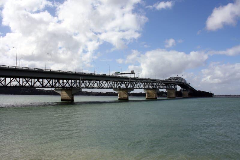 Passerelle de port d'Auckland photos stock