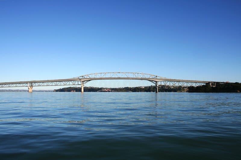 Passerelle de port d'Auckland images libres de droits