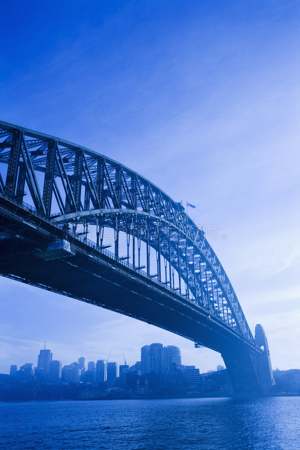 Passerelle de port de Sydney. photo stock