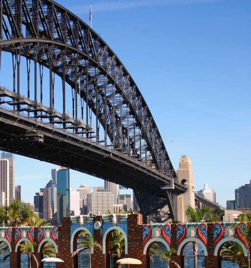 Passerelle de port de Sydney, Australie image stock