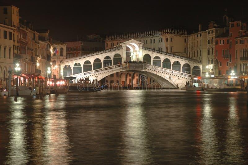 Passerelle de Rialto à Venise photographie stock libre de droits