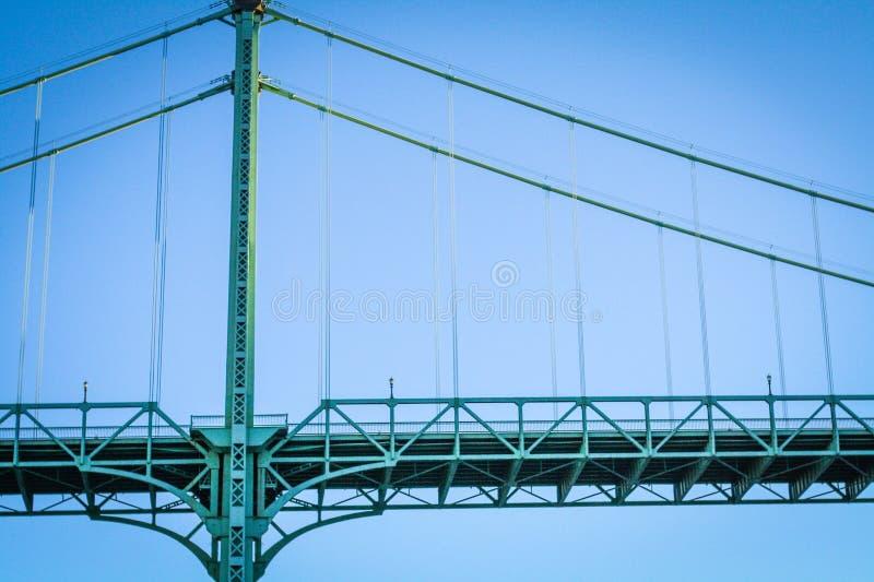 Passerelle de St Johns photo libre de droits
