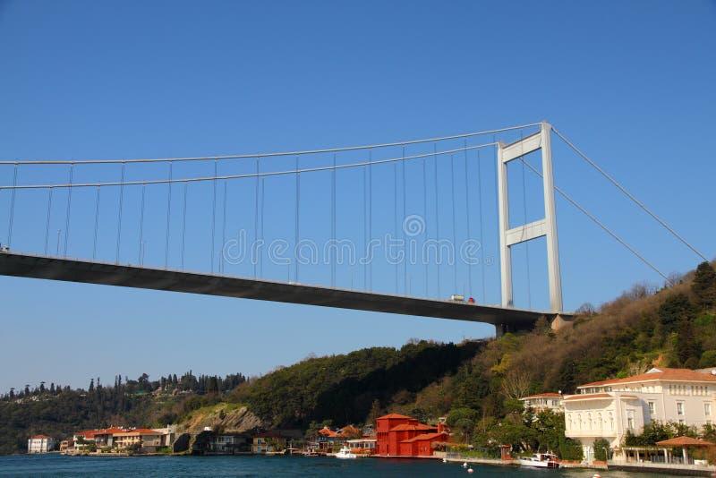 Passerelle de suspension de Bosporus photos stock
