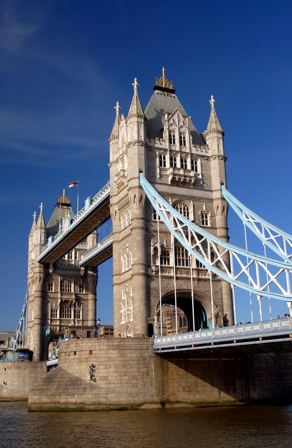 Passerelle de tour, Londres images libres de droits