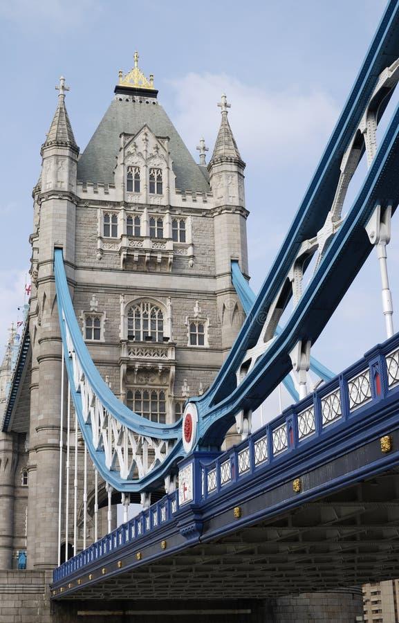 Passerelle de tour. Londres. l'Angleterre photos stock