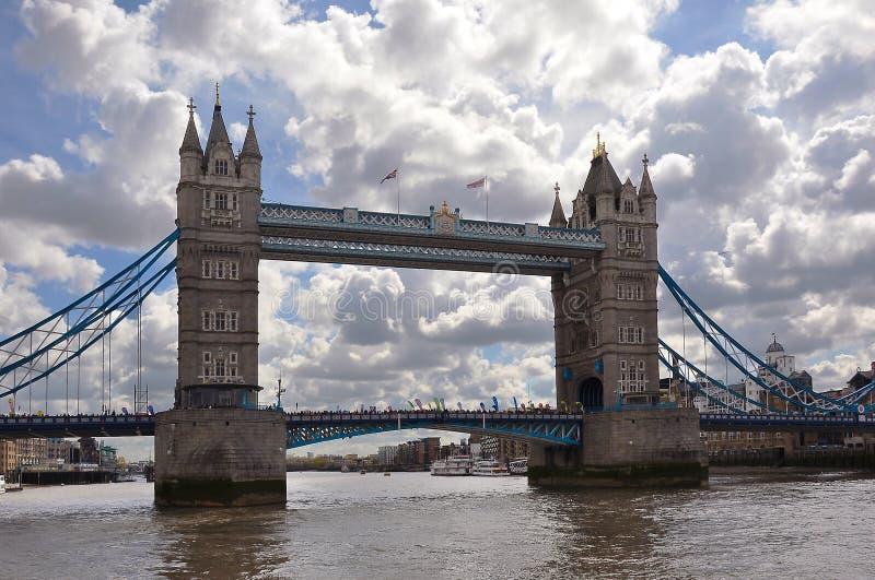 Passerelle de tour, Londres, Royaume-Uni photo stock